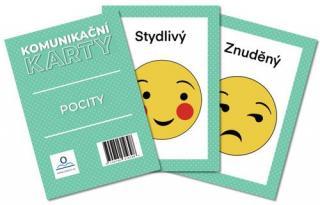 Komunikační karty Pocity - Staněk Martin [Karty]